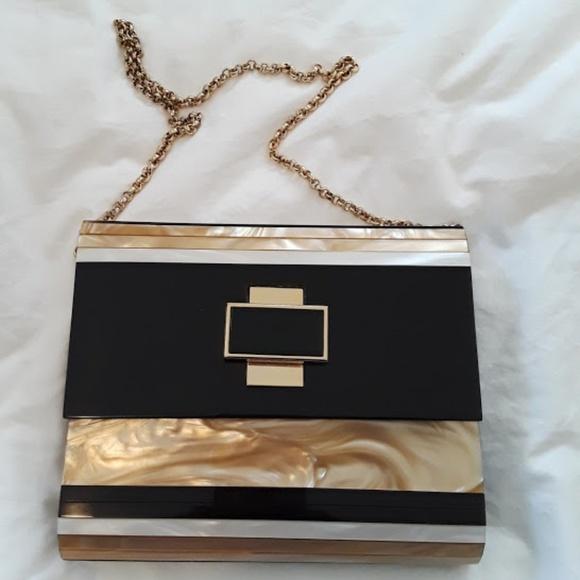 6f403d4ca25 Kotur Bags | Black And Gold Clutch | Poshmark